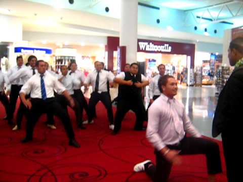 Farewell Haka for Elder Tonga.AVI