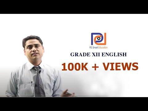 Online Course of Grade 12 English | PD Smart Education | Nepal | 2018