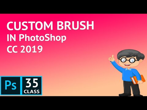 How to Create Custom Brush in PhotoShop CC 2019 | PhotoShop Tutorial for beginner in Hindi thumbnail