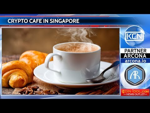 Crypto cafe in Singapore