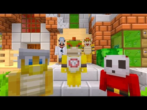 Minecraft Wii U - Nintendo Fun House - Bowser Jr Goes Back to School [9]