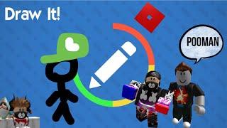 Is that Luigi? Draw It Roblox Gameplay