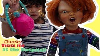 Chucky Visits Medina at the Hospital!