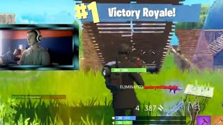 I Almost Died, Then This Happened...   Fortnite Battle Royale Solo Win