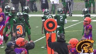 Milan Tigers vs. Detroit Spartans (A-Team) Game Highlights (10-14-2017)