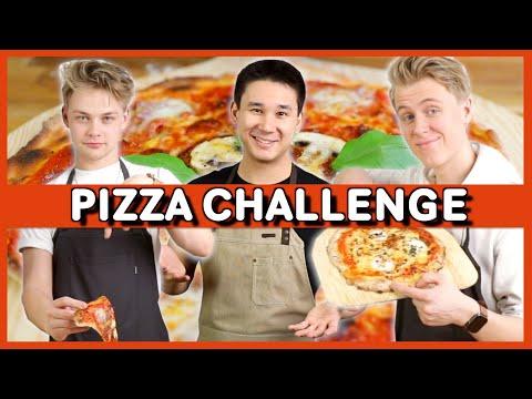 Vilken Youtuber Gör Bäst Pizza? | Ft. Hampus Hedström & Manfred Erlandsson