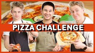 Vilken Youtuber Gör Bäst Pizza?   Ft. Hampus Hedström & Manfred Erlandsson