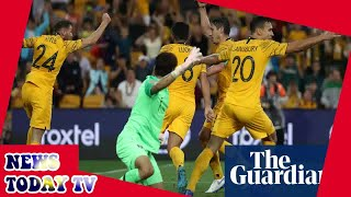 Australia snatch late draw against South Korea amid controversy
