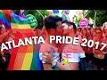ATLANTA HAS THE BEST PRIDE! | PRIDE PARADE 2017 VLOG