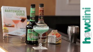 How to make the Grasshopper cocktail