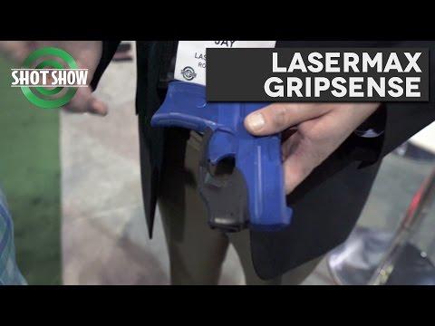 LaserMax Gripsense - SHOT Show 2017!
