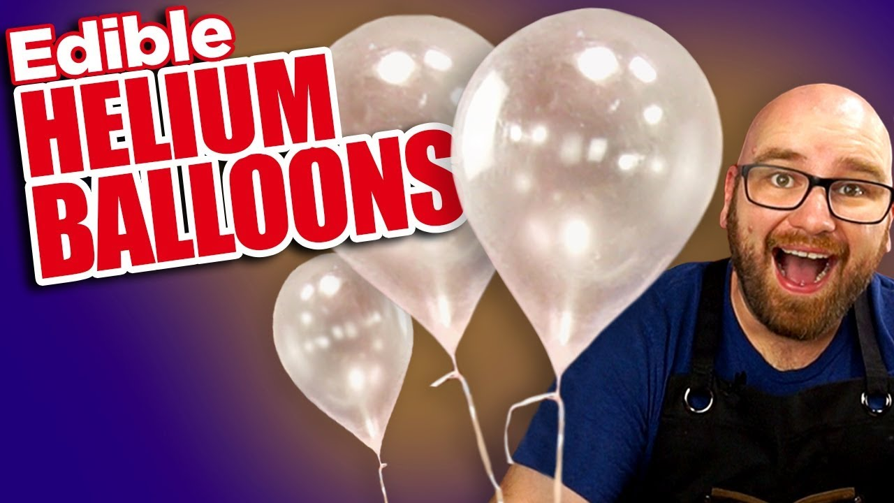 If This Was Trial Balloon I Hope We Can >> How To Make Edible Helium Balloons Youtube