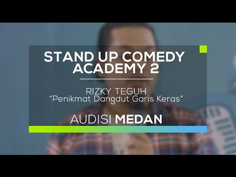 Penikmat Dangdut Garis Keras - Rizky Teguh (SUCA 2 - Audisi Medan)