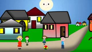 Girls And Boys Come Out to Play - Nursery Rhyme - Bimbo Hit Tv