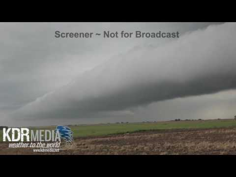 05-26-16 Ben Holcomb Hail Stor/Shelf Cloud Marion County,KS