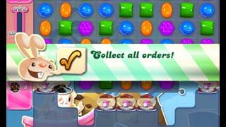 Candy Crush Saga Level 1549 walkthrough (no boosters)
