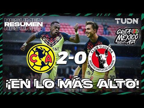 Resumen y goles | América 2-0 Xolos | Grita México BBVA AP2021 - J6 | TUDN