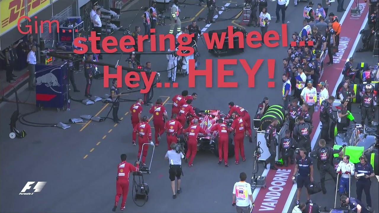 """Räikkönen: """"Steering wheel..."""""""