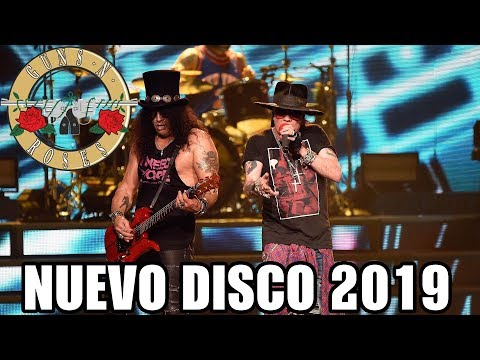 Es Oficial, Guns N' Roses Lanza Nuevo Disco 2019