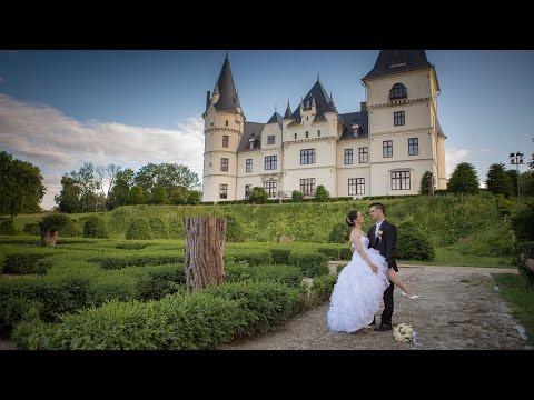 Nóra és Pisti kreatív fotózása Tiszadobon az Andrássy-kastélyban