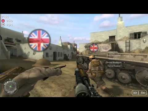 Call of Duty 2 – Multiplayer PC Gameplay [60fps][HD][2016]