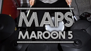 Maps - Drum Cover - Maroon 5...