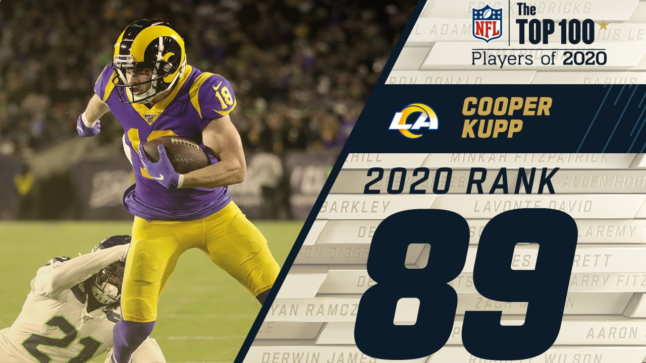 89 Cooper Kupp Wr Rams Top 100 Nfl Players Of 2020 Youtube