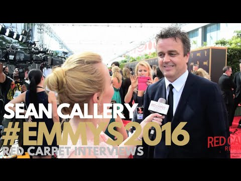 Sean Callery interviewed at the Creative Arts Emmy Awards Red Carpet Day 1 #Emmys #EmmysArts