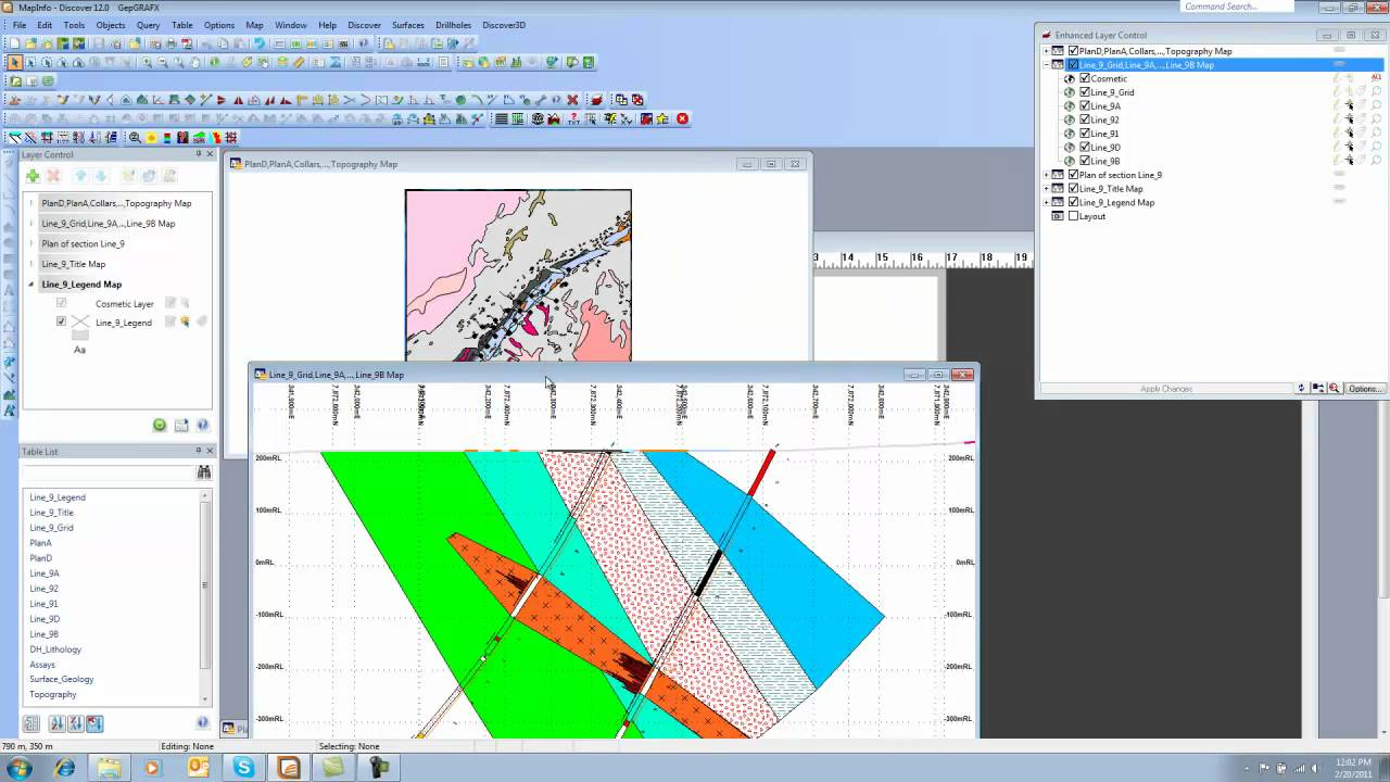 how to cut a hole in mapinfo