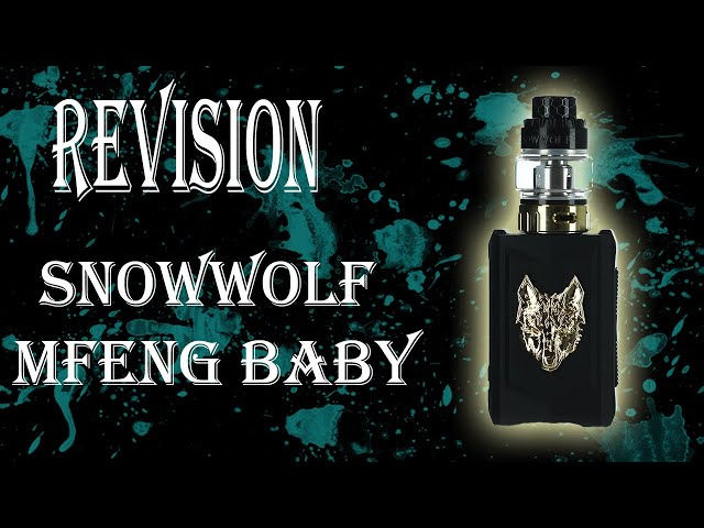 Kit de inicio vapeo Snowwolf Mfeng Baby Kit, Revisión en Español.