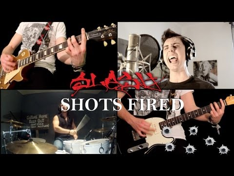 'SHOTS FIRED' by Slash, Myles & Co - FULL COVER Performed by Karl, Alberto, Lion & Niko