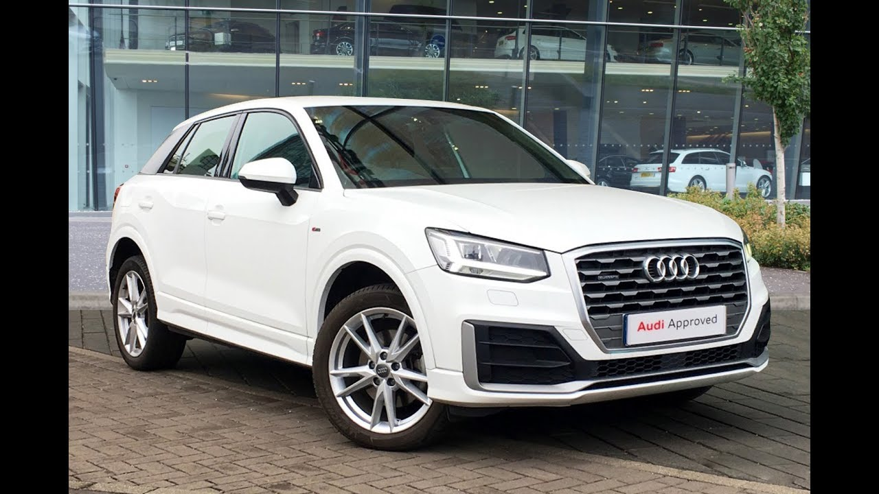 lf17upr audi q2 tdi quattro s line white 2017 west london audi youtube. Black Bedroom Furniture Sets. Home Design Ideas