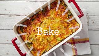 Hearty Baked Omelette Cottage Cheese