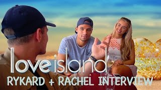 INTERVIEW WITH LOVE ISLANDS RYKARD JENKINS + RACHEL FENTON