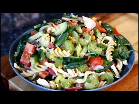 Pasta Salad With Spinach For Lunch  New Recipe For Summer | #DELICIOUS PASTA SALAD