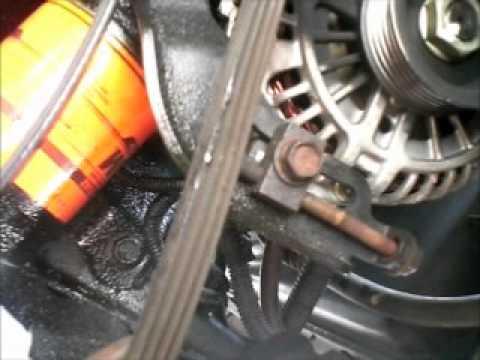 2013 Nissan Maxima Engine Diagram Belts On 98 Mercury Villager Nissan Quest Youtube