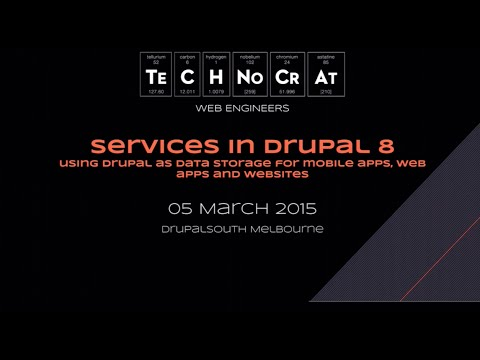 Services in Drupal 8