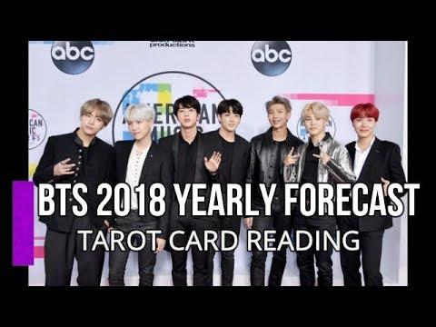 BTS 2018 Yearly Forecast | Tarot Card Reading