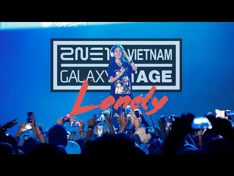 2NE1 - Lonely [2NE1 Galaxy Stage in Vietnam]