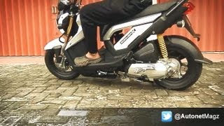 Honda Zoomer-X Indonesia Review & Test Ride