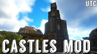 Castles, Keeps, and Forts Mod :: Exploring an Epic Castle w/ TagBackTV :: Modded Castle Build :: UTC