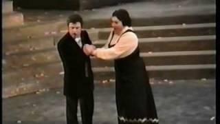 Ghena Dimitrova & Nicola Martinucci - No, no, Turiddu! rimani ancora...