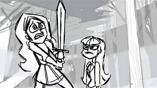 "DC Superhero Girls ""Living The Nightmare"" part3"