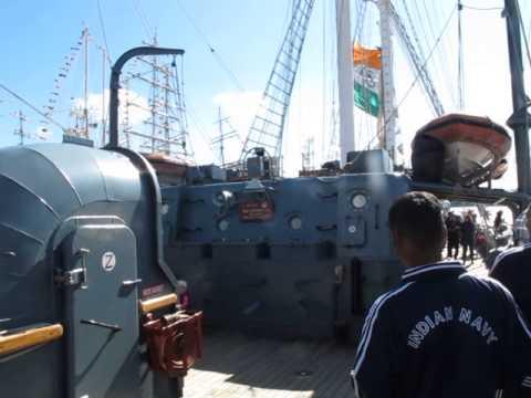 On board the Tarangini.