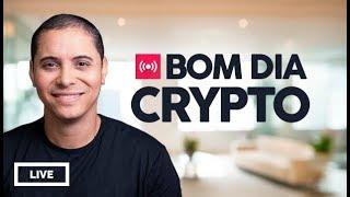 BITCOIN 9000 USD? -  BOM DIA CRYPTO - ANÁLISE AO VIVO 26/07/2018  | RODRIGO MIRANDA
