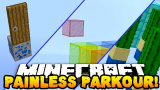 Minecraft PAINLESS PARKOUR! (WARNING: VERY PAINFUL!) - w/PrestonPlayz & PeteZahHutt