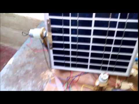 Solar Power Generation Using Auto Tracking/Dual Axis Tracking