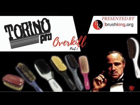 TORINO PRO OVERKILL PART 1: 360 WAVES BEST Brushes || UNBOXING ||