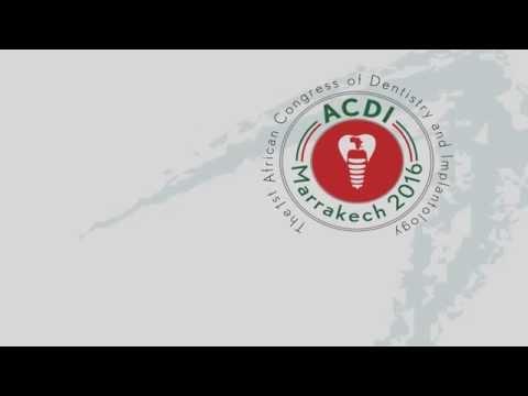 ACDI 2016 - Pr. Nadia Ghodbane , Dean Of Constantine Dental School . ALGERIA