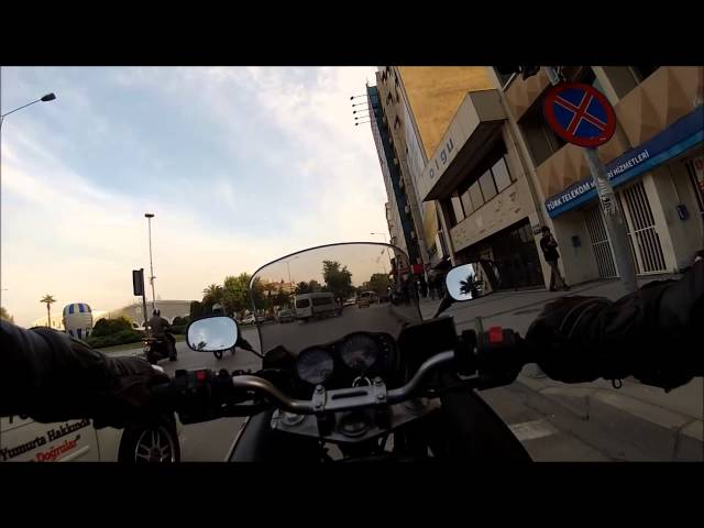 Kawasaki Ninja 650R (ER6F) meanwhile in izmir ''summer is coming''